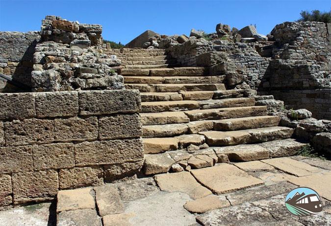 Foro del yacimiento romano de Carteia - Algeciras