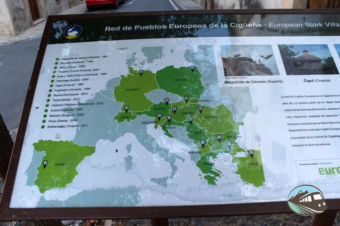 Red de Pueblos Europeos de la Cigüeña - Malpartida de Cáceres