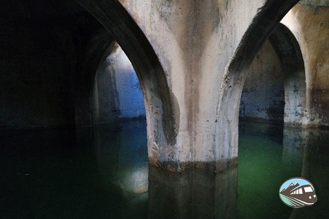 Aljibe del castillo - Castellar Viejo
