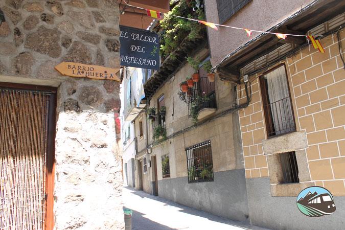Barrio de la Huerta - Garganta la Olla