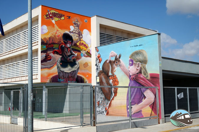 Murales de Arte Urbano - El Provencio