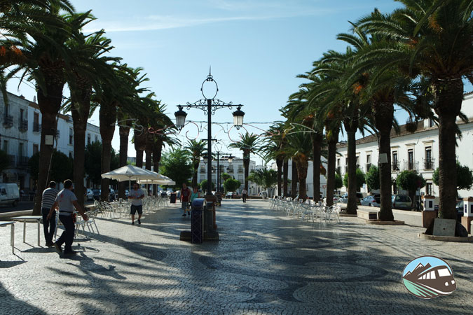 Plaza de España de Olivenza