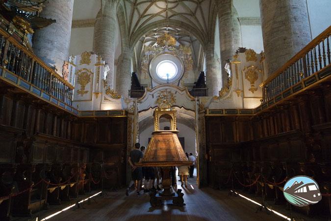 Trascoro del Monasterio Yuso