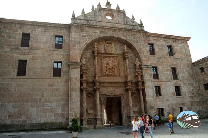 Fachada monasterio de Yuso