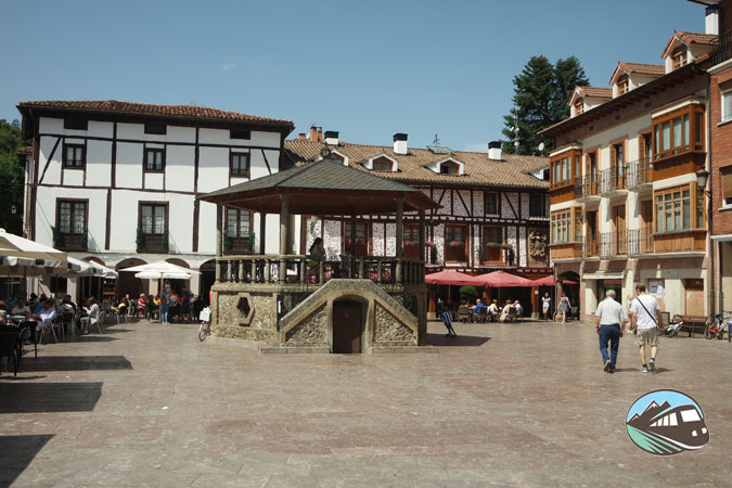 Plaza del Quiosco Ezcaray
