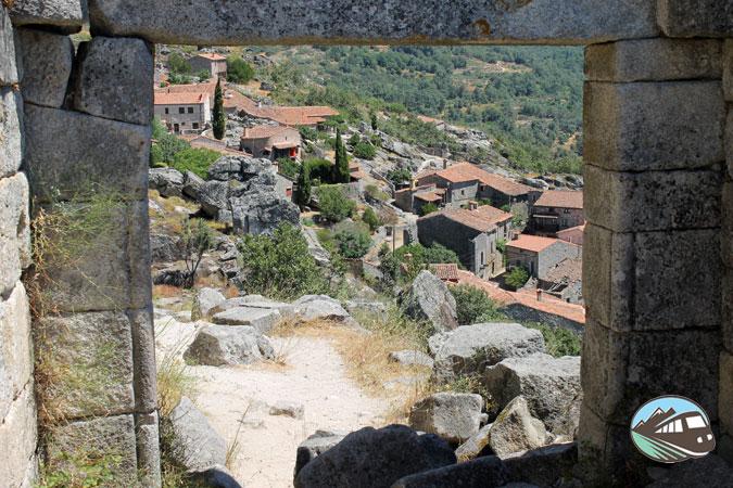 Vista Castillo de Trevejo