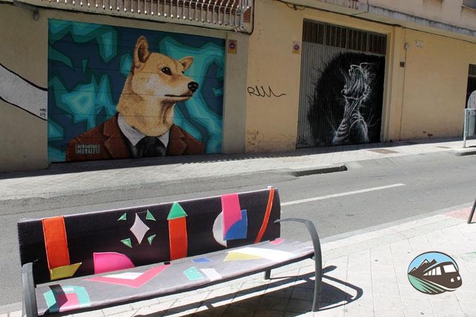 Bancos de colores - Salamanca