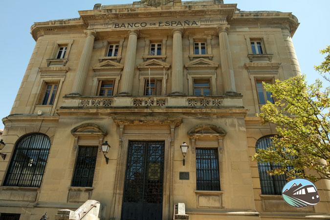 Banco de España de Haro