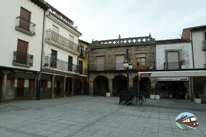 Plaza Mayor de El Barco de Ávila