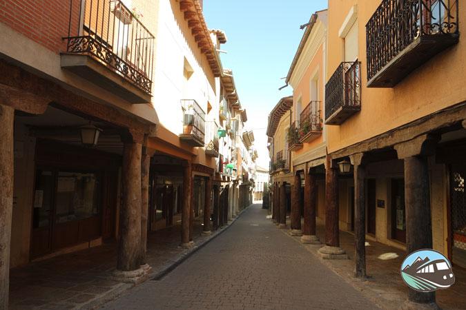 Rúa Mayor de Medina de Rioseco