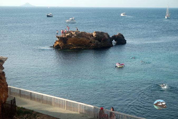 Islote del pato - Cabo de Palos