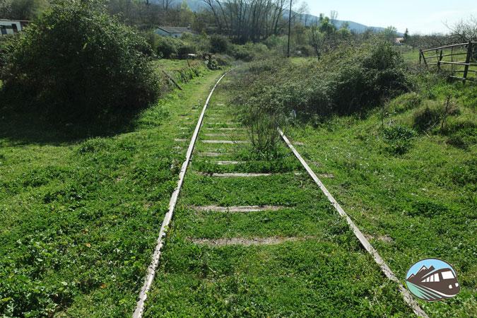 Antigua vía - Hervás