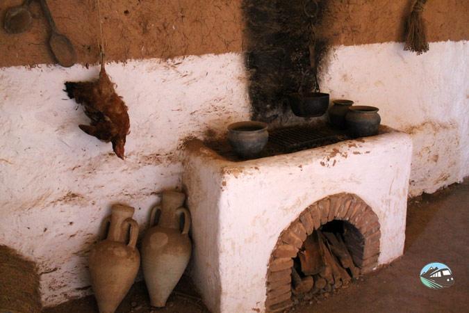 Interior de la casa celtibérica – Numancia