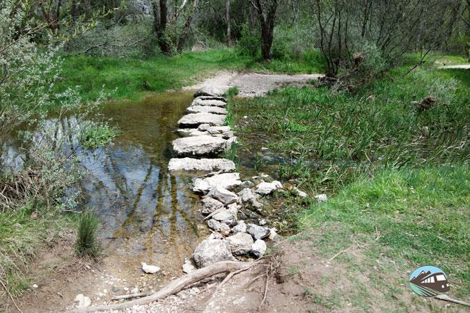 Puente de piedra - Cañón del río Lobos