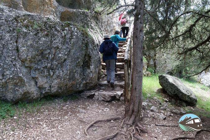 Pasadizos - Cañón del río Lobos