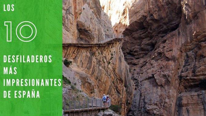 Los 10 desfiladeros más impresionantes de España