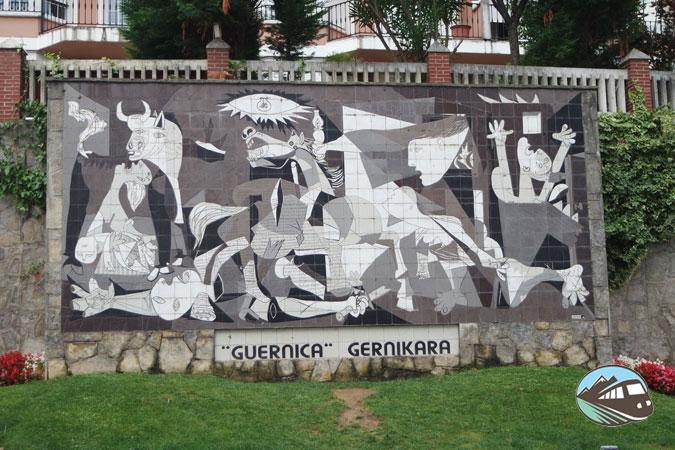 Mural del Guernica - Gernika-Lumo