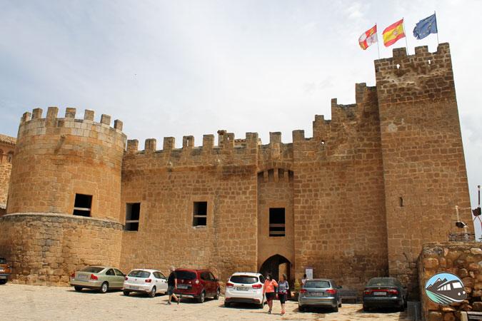 Castillo-Palacio de Altamira - Monteagudo de las Vicarías