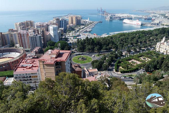Mirador Castillo de Gibralfaro - Málaga