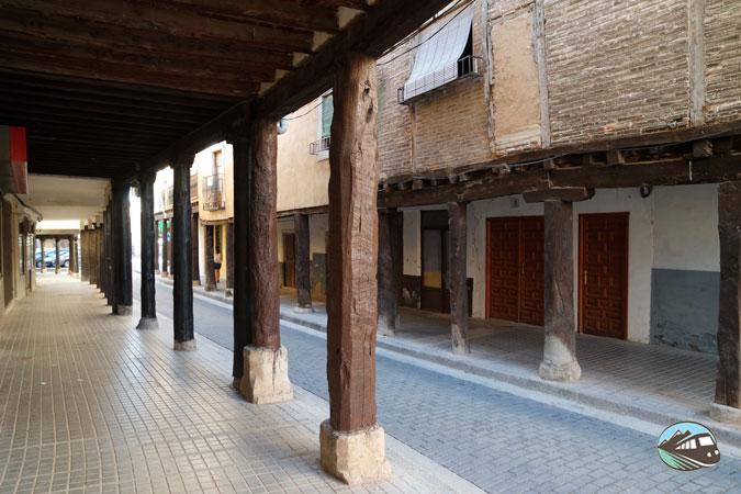 Calle porticada – Berlanga de Duero