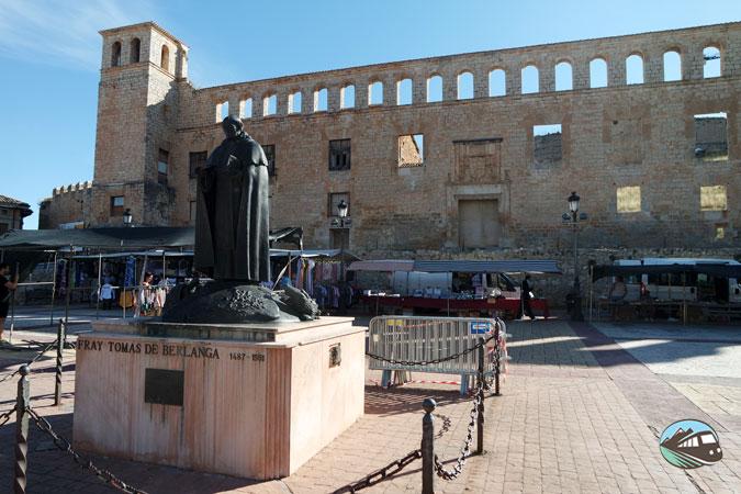 Plaza del Mercado - Berlanga de Duero