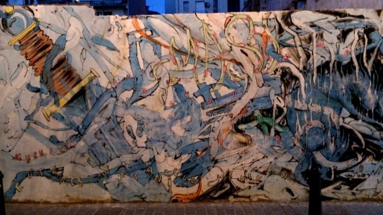 Graffiti espada