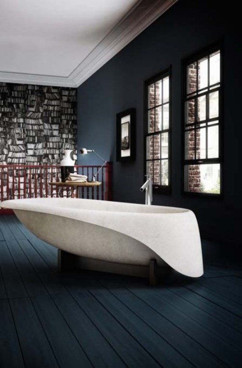 Bañera piedra