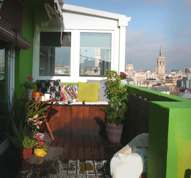 Balcones y terrazas rutchicote