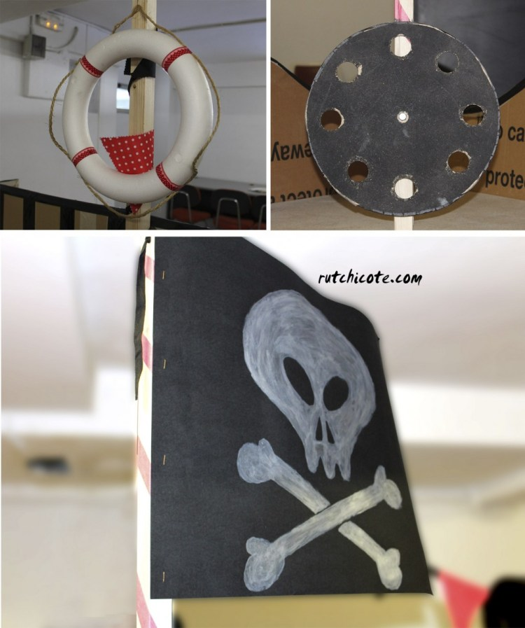 Como hacer un barco pirata