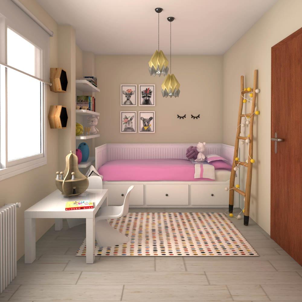 proyecto de interiorismo dormitorio infantil