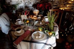Un desayuno navideño