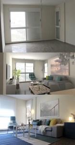Proyectos de decoración de salón