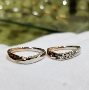 結婚指輪 コンビリング