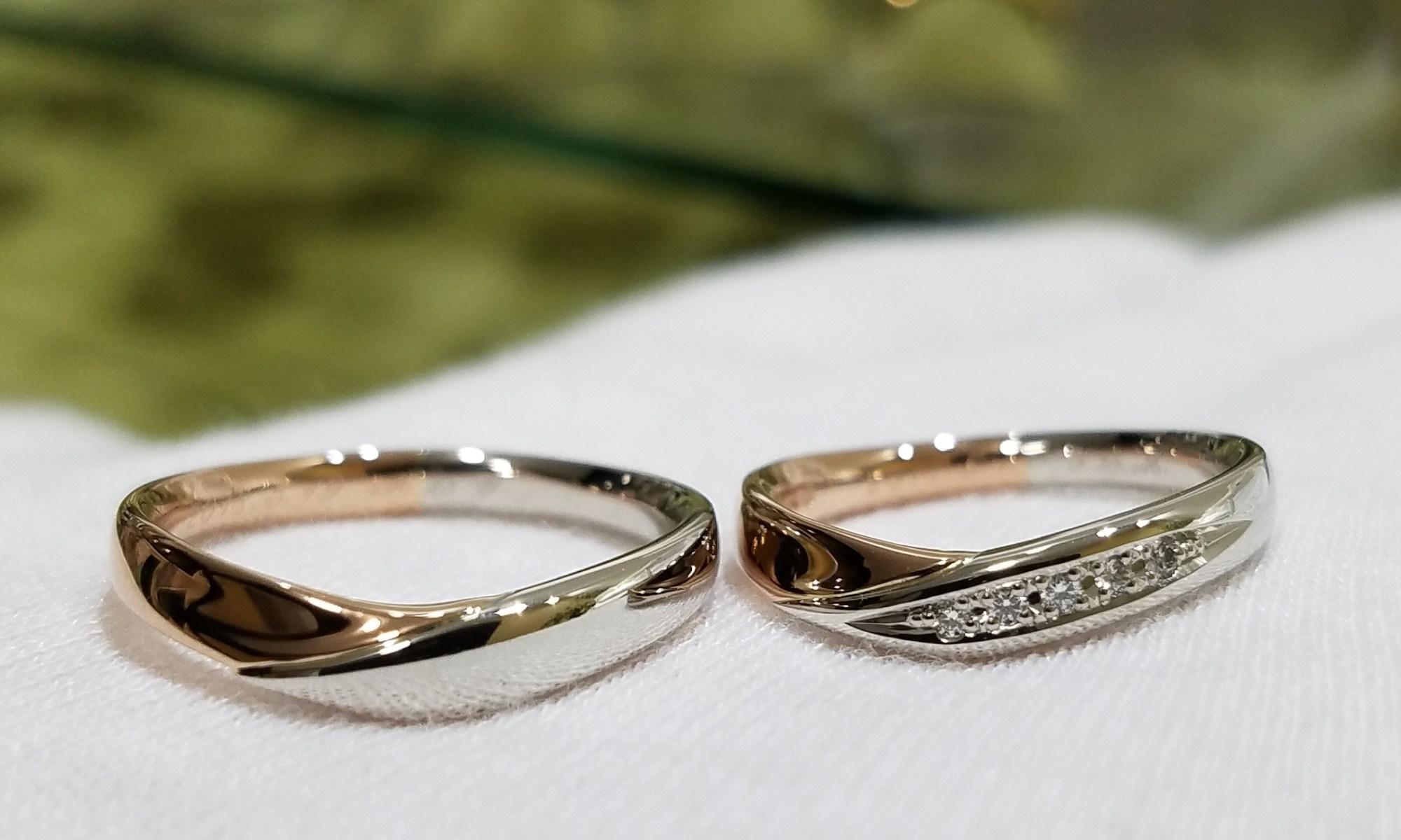 結婚指輪 マリッジリング コンビリング