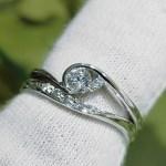 結婚指輪 婚約指輪 セットリング(パターンⅦ)