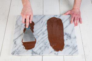 Chocoladeschaafsel maken