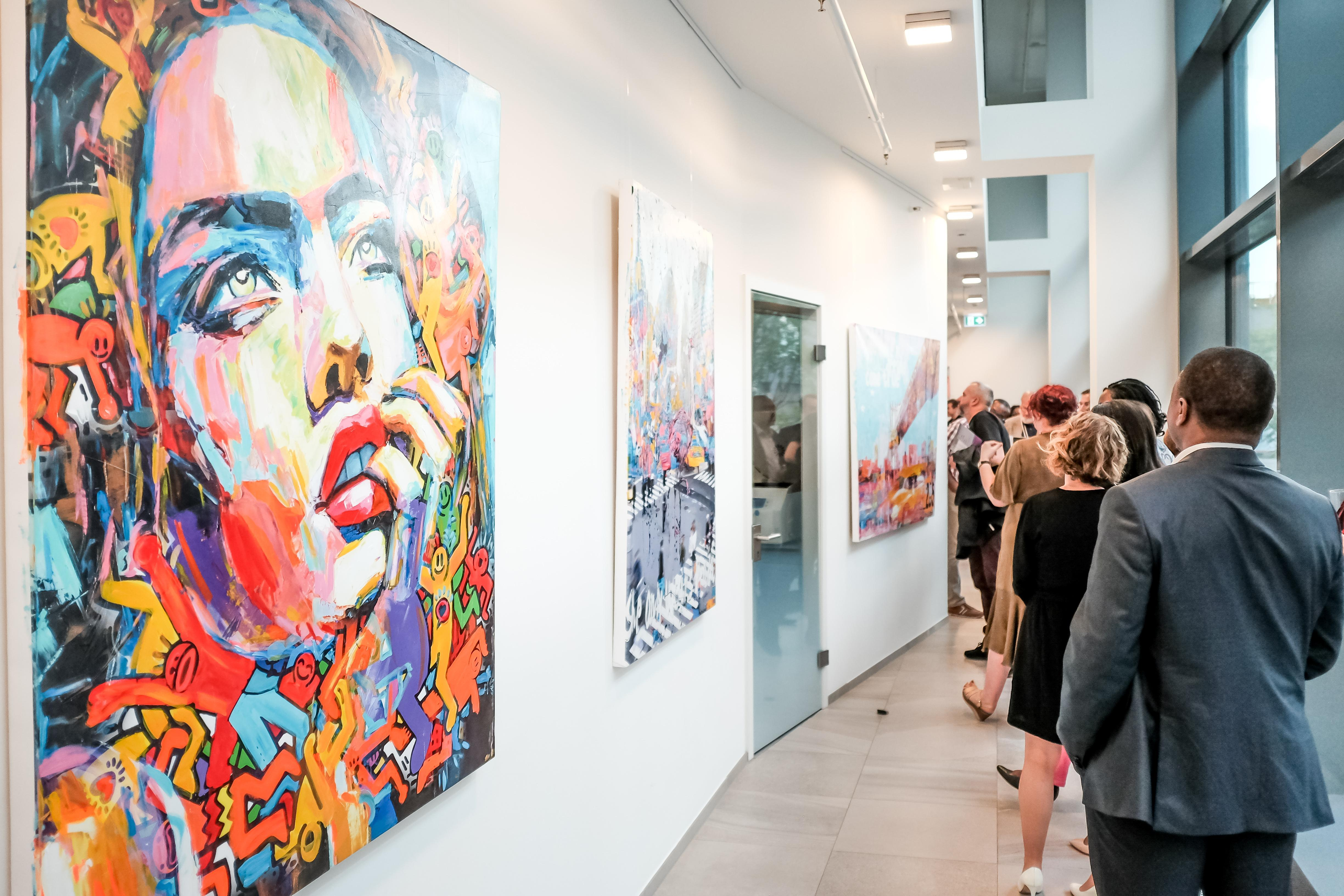 Exposition Art Galerie Luxembourg - Exhibition Art Gallery Luxembourg Photo: Gianmarco Design