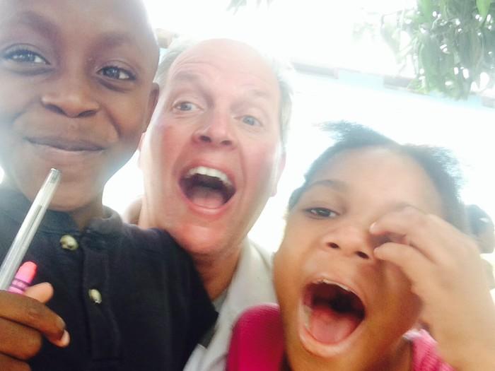 Mike Mitchell Haiti trip