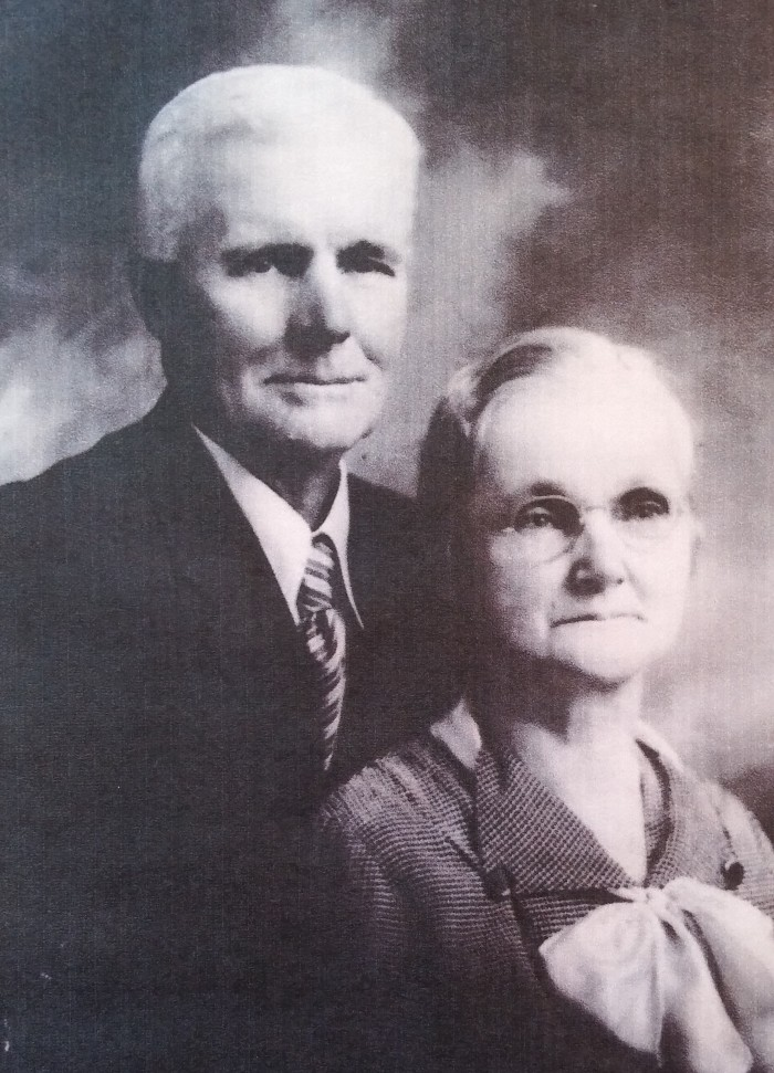Sam and Emma Tippin, 1939, three years before Sam's death