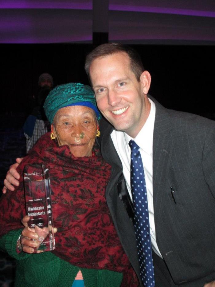mon maya rai at passion awards