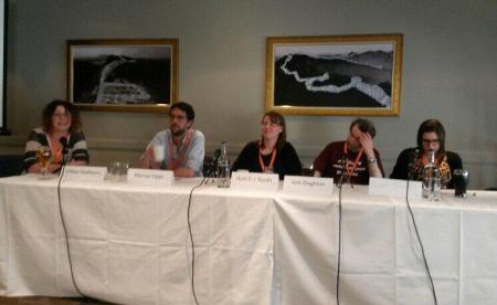 Photo courtesy of Laura Lam - for her report of the weekend, check out her Eastercon 2014 blog.