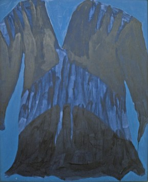 Dress for Ara (Eagle Maiden), 1984 acrylic on canvas 135.0 x 111.0 cm Collection of Indian and Northern Affairs Canada