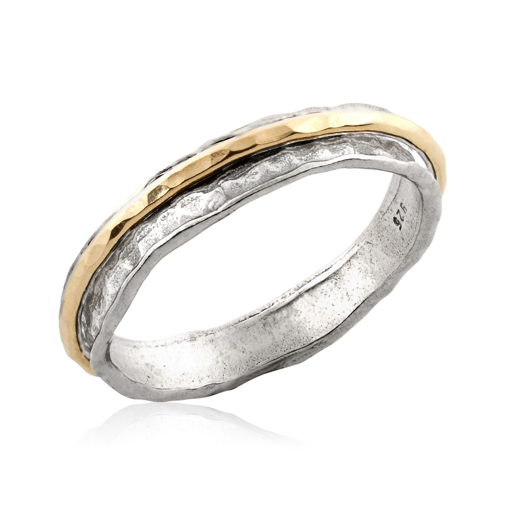 Silver and Gold Filled Ring