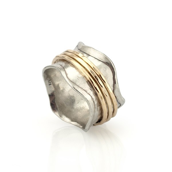 Gold Filled Spinning Ring