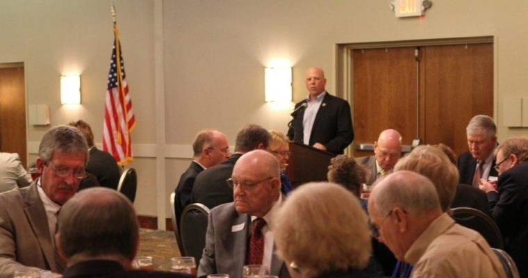 US Congressman Scott DesJarlais Speaks in Murfreesboro