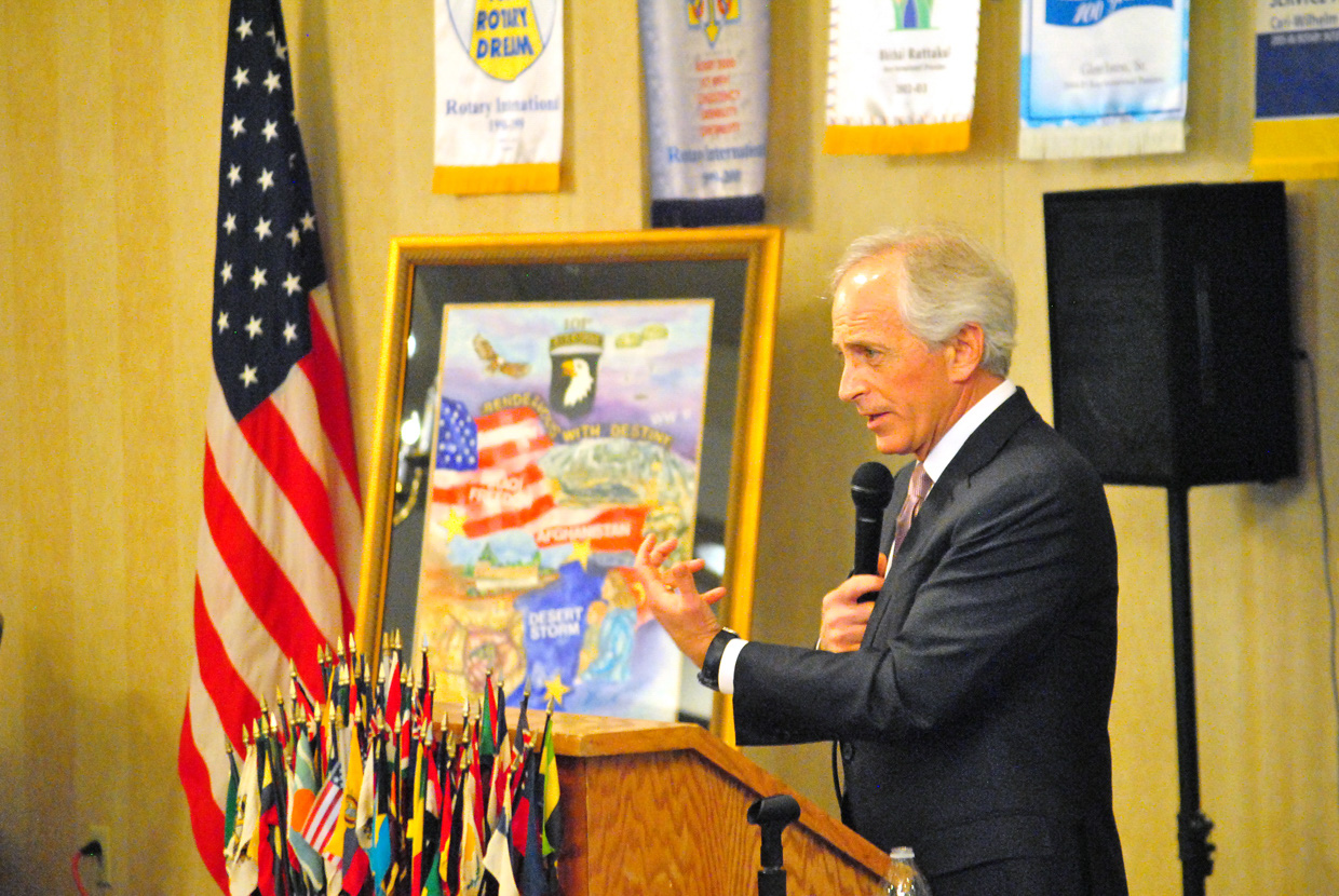 Sen. Bob Corker Featured Speaker at August Luncheon