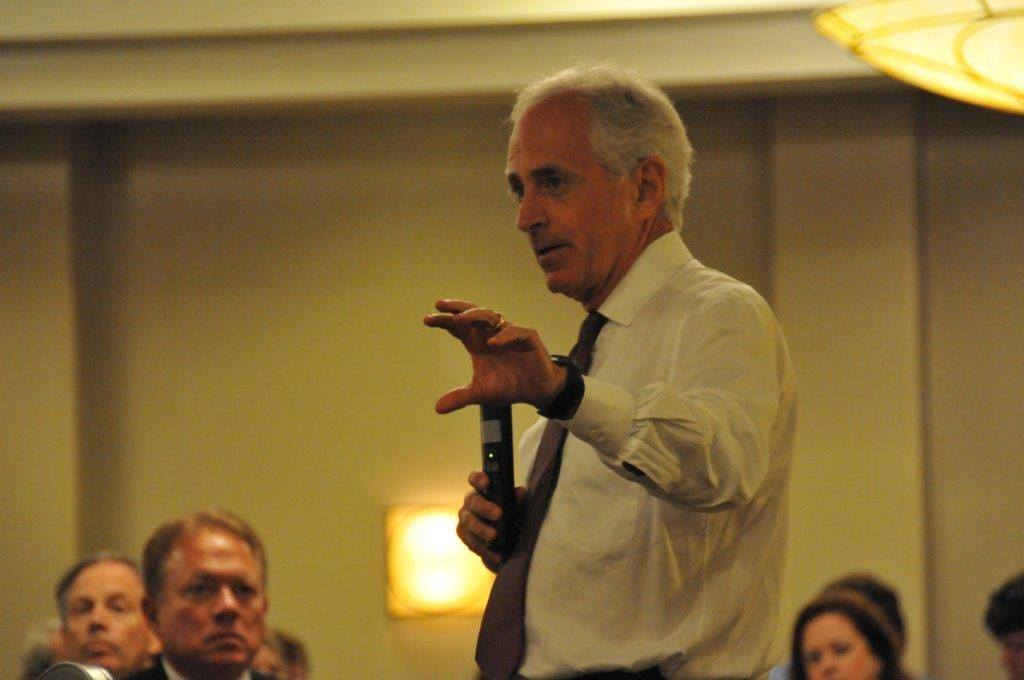 Sen. Corker spoke about election at GOP luncheon