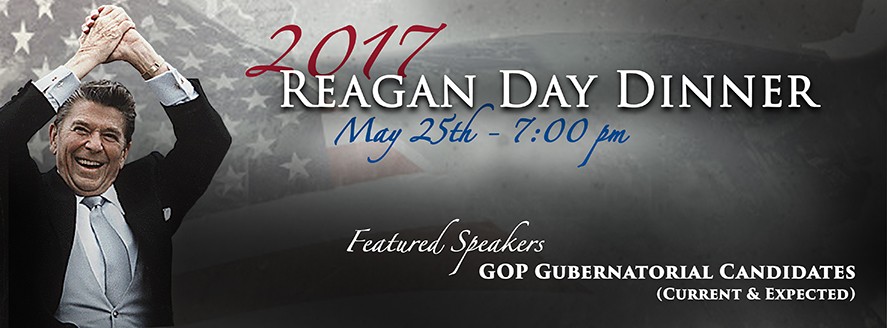 Reagan Day Dinner May 25th, 2017
