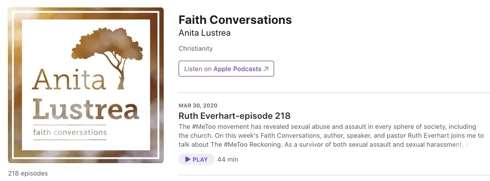 Podcast — Faith Conversations with Anita Lustrea