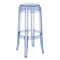 Ghost Bar Chair Tufted Accent Chairs Charles Stool Clear Ruth Fischl Event Rental